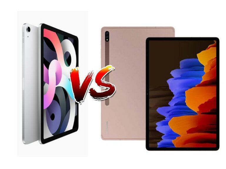 iPad Air 2020 vs Galaxy Tab S7 Plus, Canggih Mana?