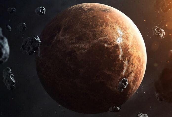 Planet Rusia Venus