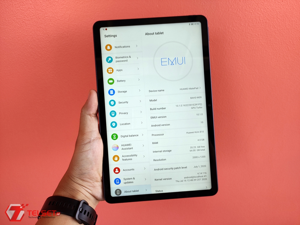 Review Huawei MatePad T 10s: Tablet Terjangkau, Pas untuk WFH