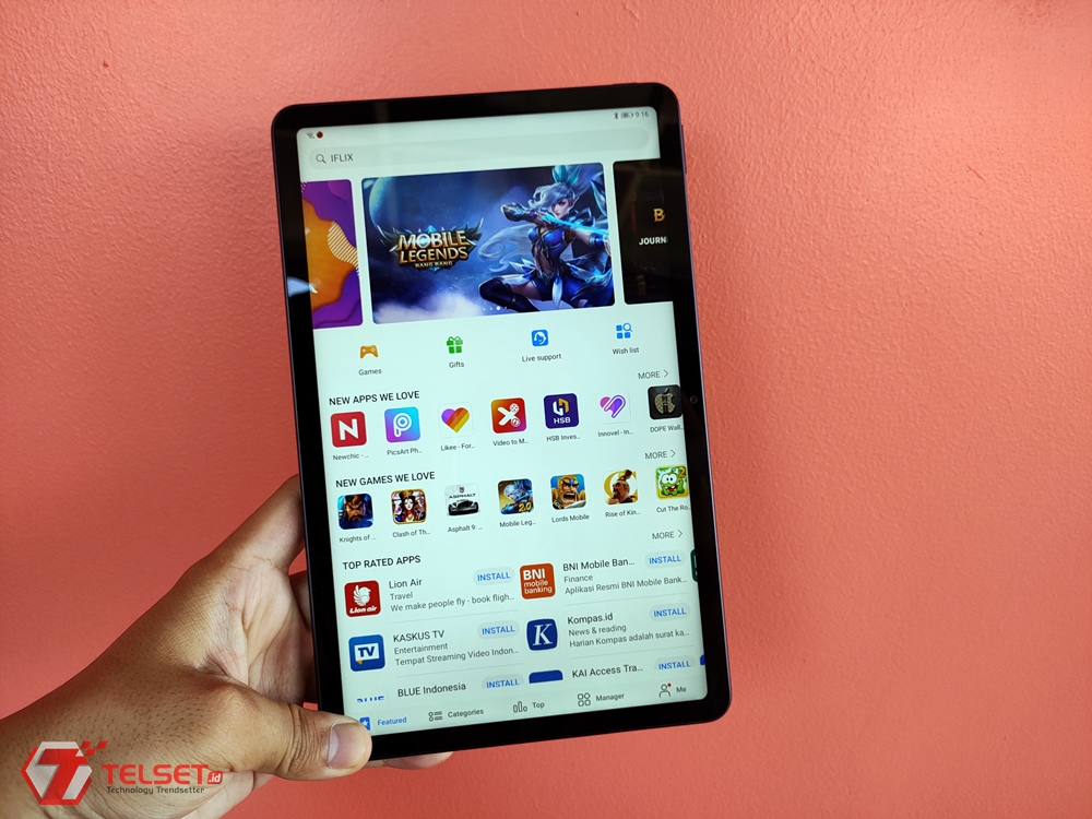 Review Huawei MatePad T 10s