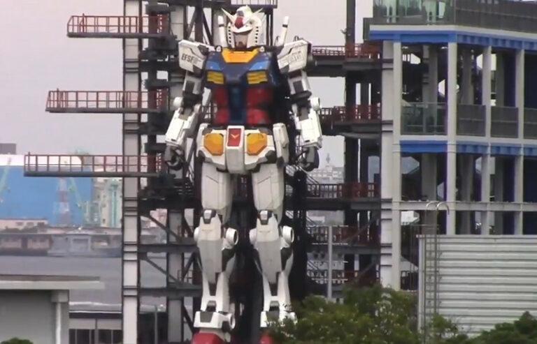 Perusahaan di Jepang Bikin Robot Gundam Raksasa