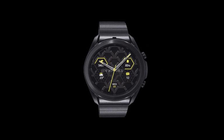 Wih! Samsung Galaxy Watch3 Meluncur dengan Body Titanium