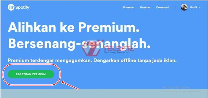 Spotify Premium GoPay
