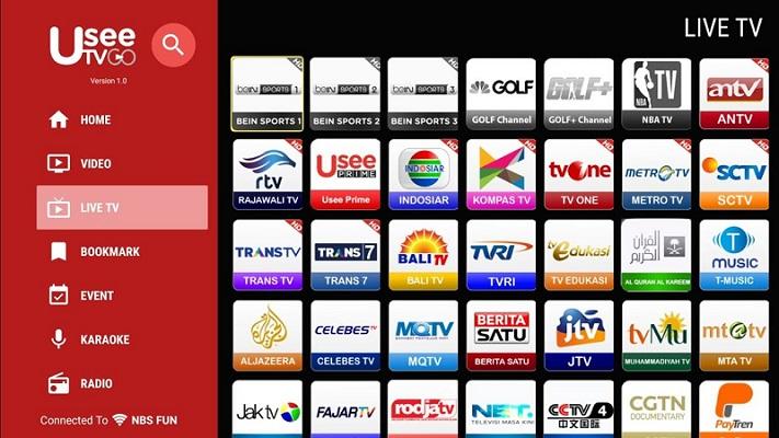 Aplikasi Live Streaming Gratis