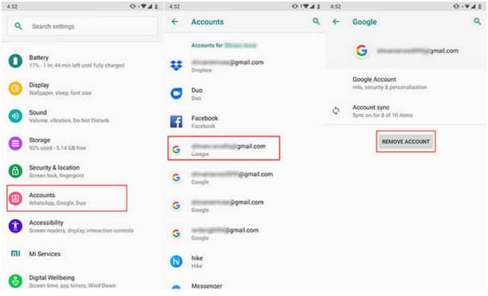 Mungkin akun Gmail diretas atau tidak valid