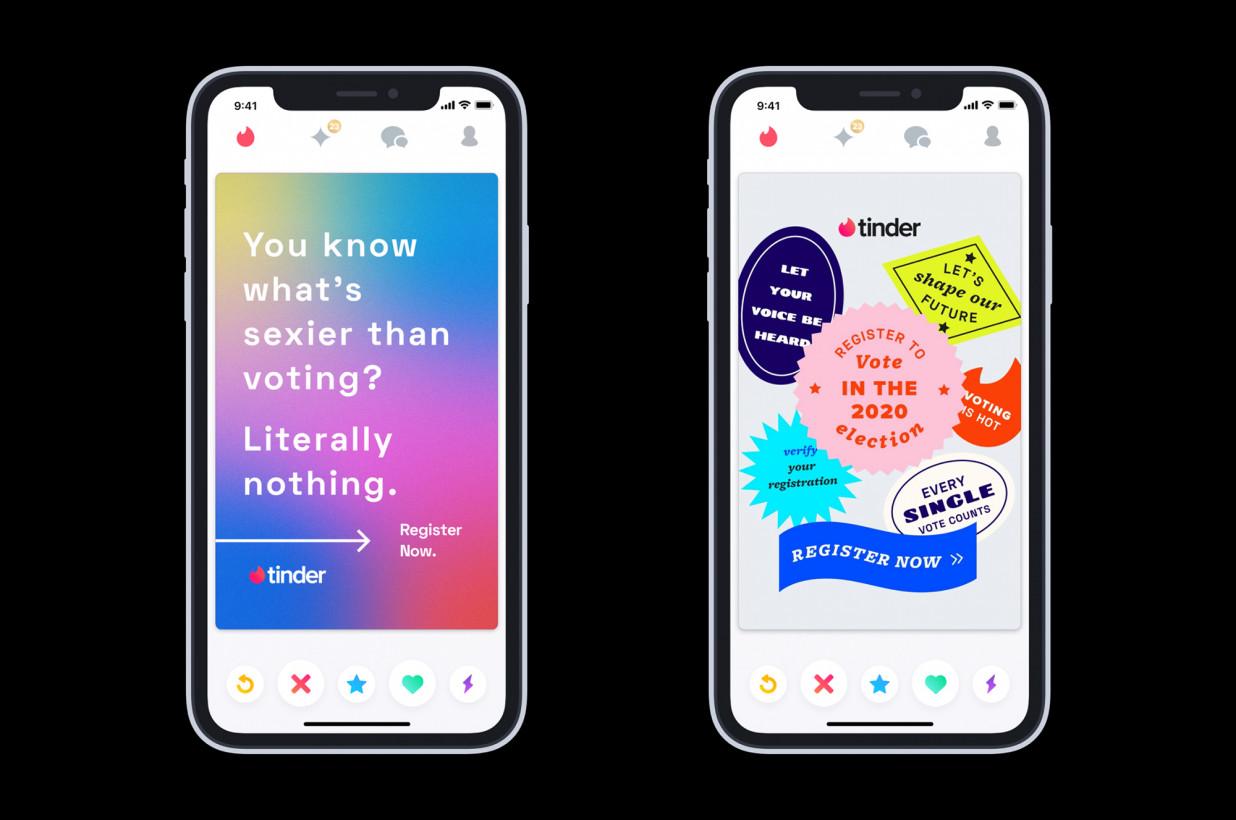 Tinder dkk Minta Pengguna Nyoblos pada Pemilu AS 2020