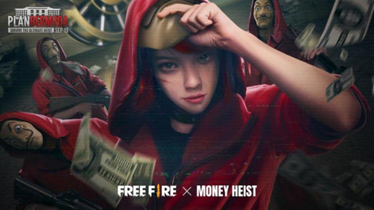 Event Free Fire x Money Heist Dimulai, Banyak Hadiahnya!