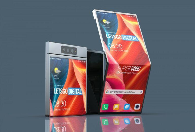 Oppo Patenkan Smartphone Lipat dengan Gaya Baru