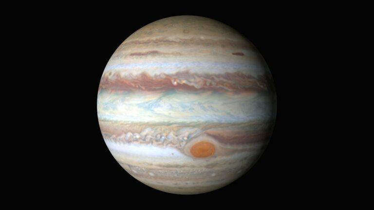 Teleskop Hubble Rekam Badai Jupiter dan Bulan Europa