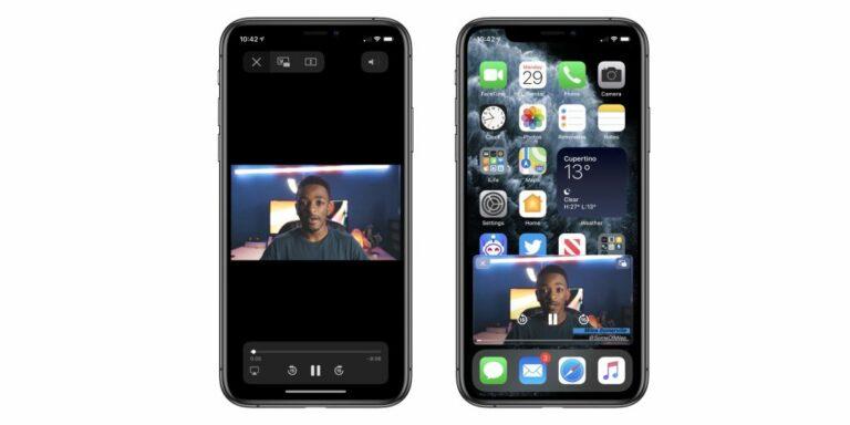 Cara Menggunakan Fitur Picture in Picture iOS 14 di iPhone