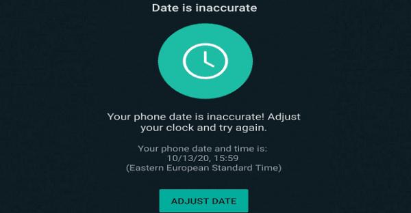 Pengaturan Waktu dan Tanggal Smartphone yang Salah