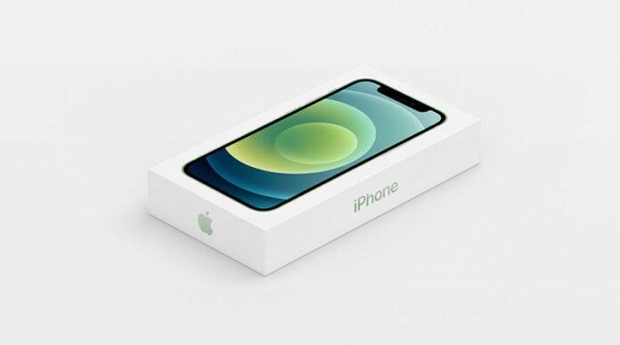 Paket penjualan iPhone 12
