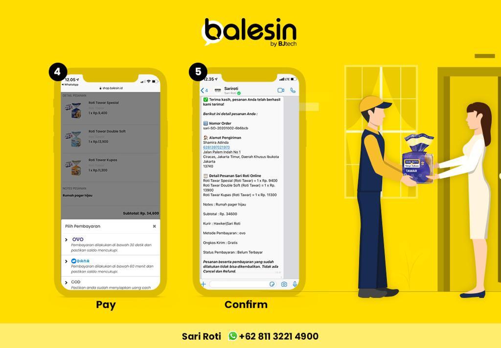 Balesin.ID Chatbot WhatsApp