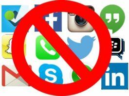 Aturan Blokir Media Sosial