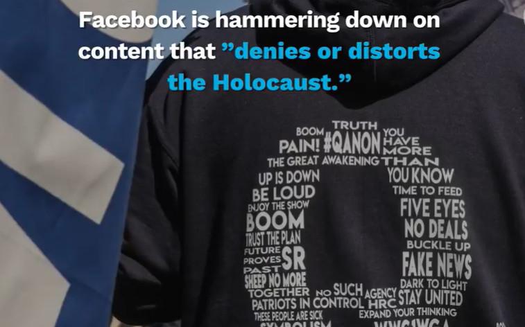 Facebook Larang Postingan Penolakan Holocaust