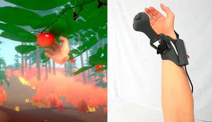 """Gelang VR Microsoft Bisa """"Sentuh"""" Objek di Dunia Maya"""