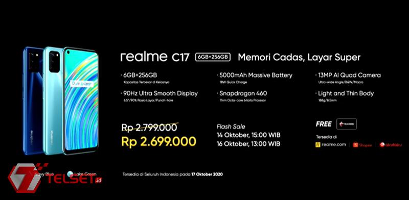 Harga Realme C17 Indonesia
