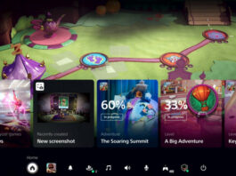 UI PlayStation 5