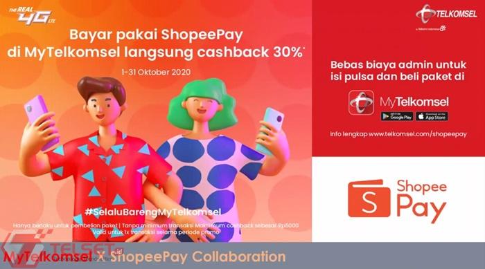MyTelkomsel ShopeePay