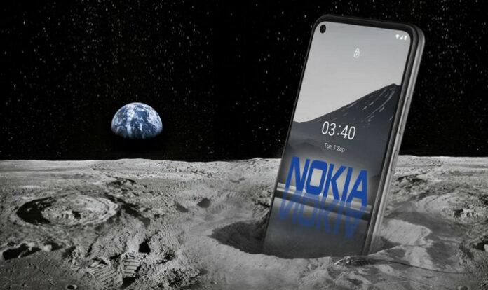 Nokia 4G di Bulan