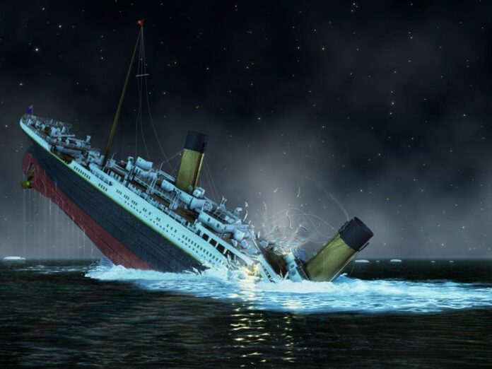 Penyebab Titanic Tenggelam