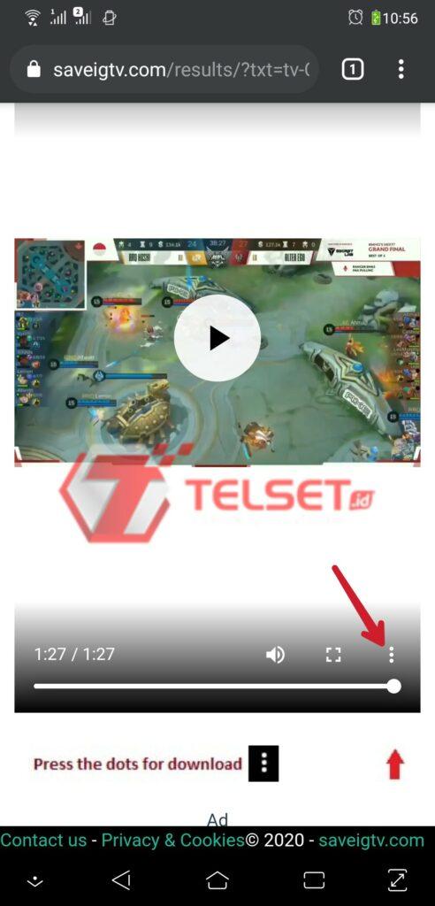 Cara download Video IGTV