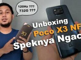 UNBOXING POCO X3 NFC