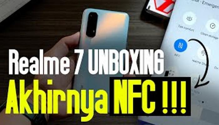 Unboxing Realme 7: Akhirnya Ada NFC..!!