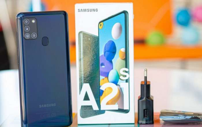 Samsung Galaxy A21s Varian Baru dengan RAM 6GB/128GB