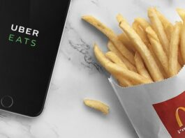 Saus McD McDonalds Uber Eats