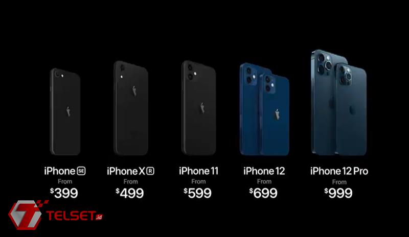 Harga iPhone 12 Mini Pro Max