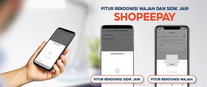 Fitur Face ID Sidik Jari ShopeePay