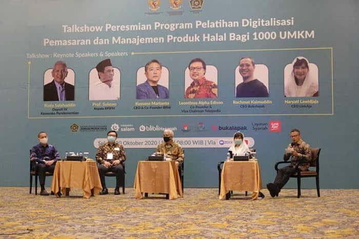 LinkAja Gelar Pelatihan Digitalisasi Produk Halal untuk UMKM