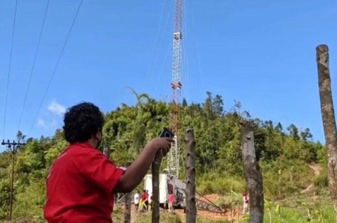 Jaringan 4G LTE Telkomsel Desa Tertinggal