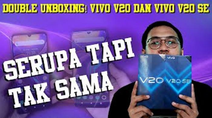 Double Unboxing Vivo V20 & V20 SE: Serupa tapi Tak Sama