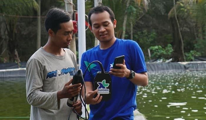 XL Smart Aquaculture Bantu Petani Tambak Tingkatkan Produktivitas