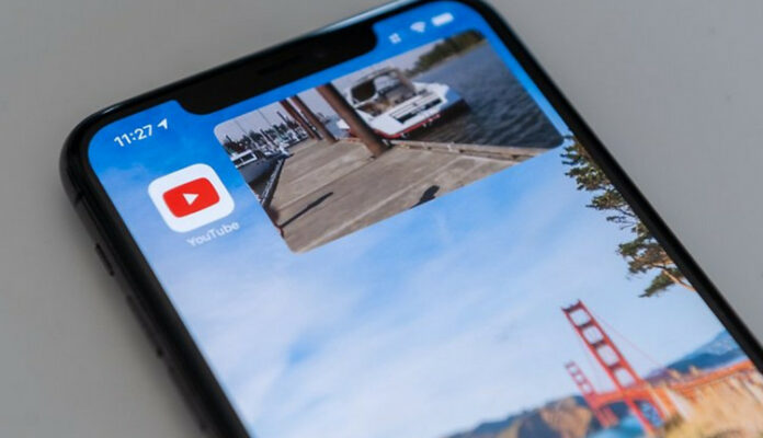 Picture-in-Picture iOS 14 YouTube