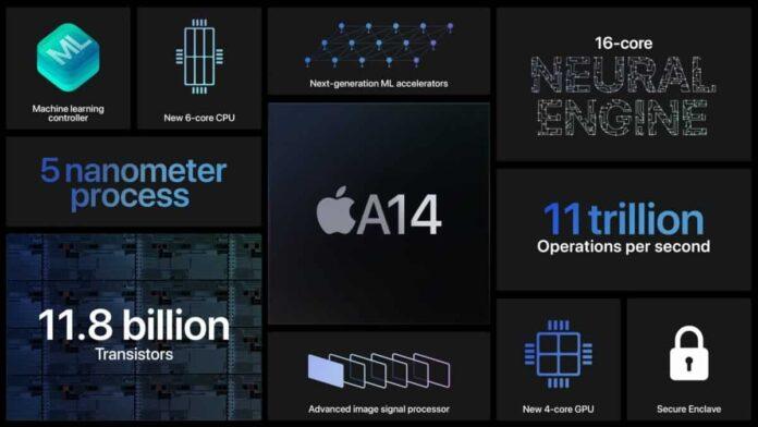 Benchmark Apple A14 Bionic