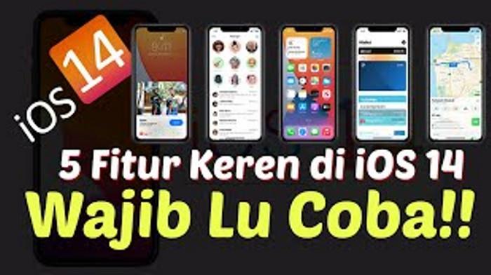 TECHNO UPDATE: 5 Fitur Keren di iOS 14, WAJIB LU COBA !!