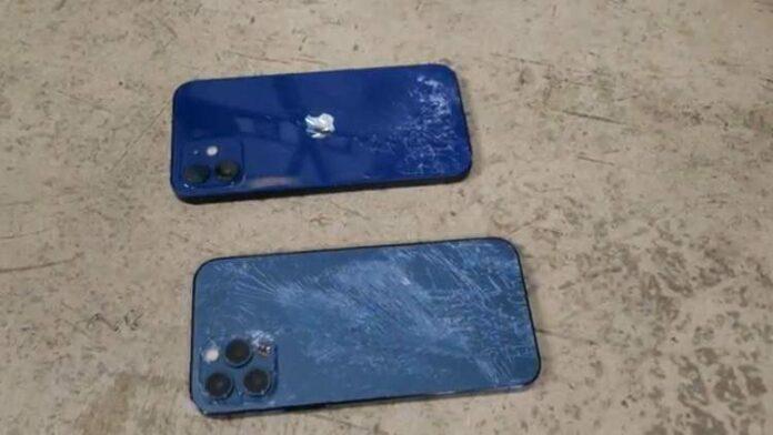 iPhone 12 jatuh