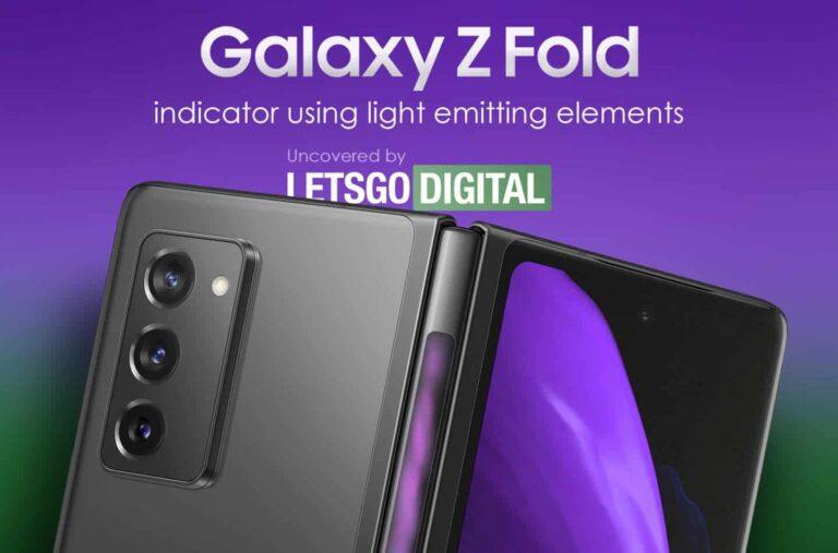 """Samsung Galaxy Z Fold 3 Punya """"Layar Ketiga"""" di Engsel"""