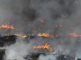 Baterai smartphone bekas Kebakaran