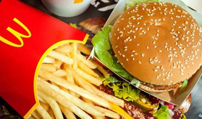 Burger Daging Nabati McDonald's