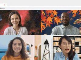 Ganti Background Google Meet