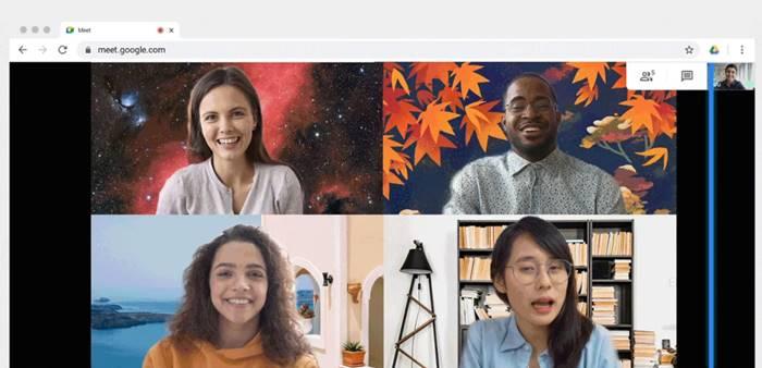 Mirip Zoom, Pengguna Bisa Ganti Background Google Meet