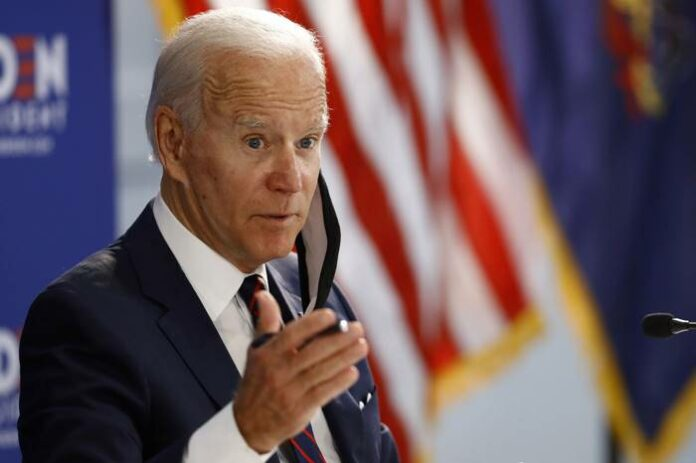 Joe Biden Pilpres AS 2020