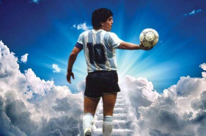 Maradona Meninggal, Bintang Sepak Bola Ucapkan Belasungkawa
