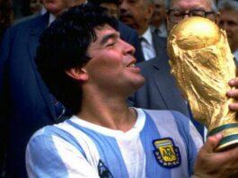 viral Maradona meninggal