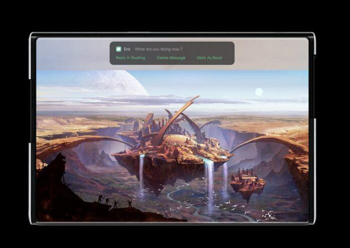 Berita smartphone populer Smartphone layar gulungOppo X 2021 (Foto: Oppo)