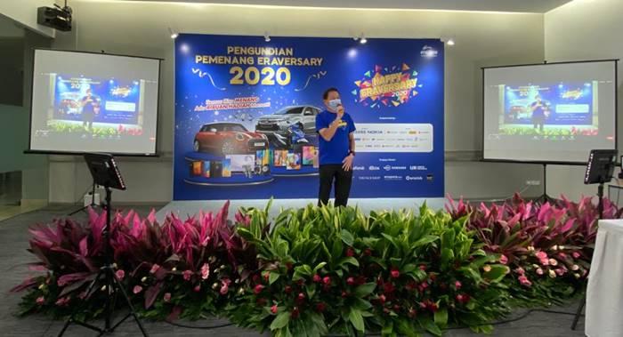 Erajaya Umumkan Pemenang Mini Cooper di EraVersary 2020